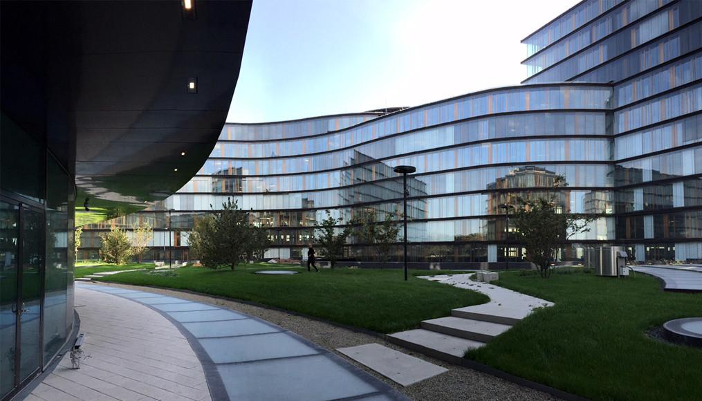 Erste Campus Aubock Karasz Landscape Architects