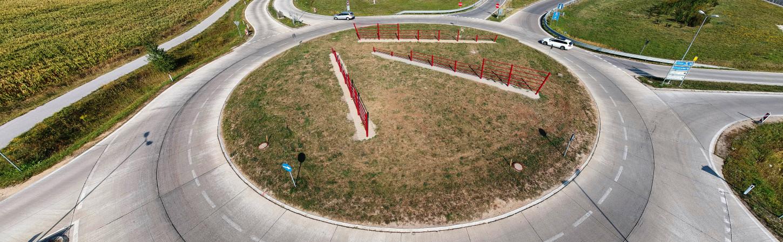 Roundabout Hagenbrunn