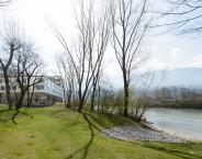 Promenade / river bank / nursing home in Innsbruck