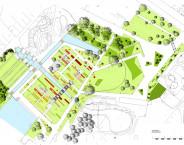 Rosarium Donaupark - Plan